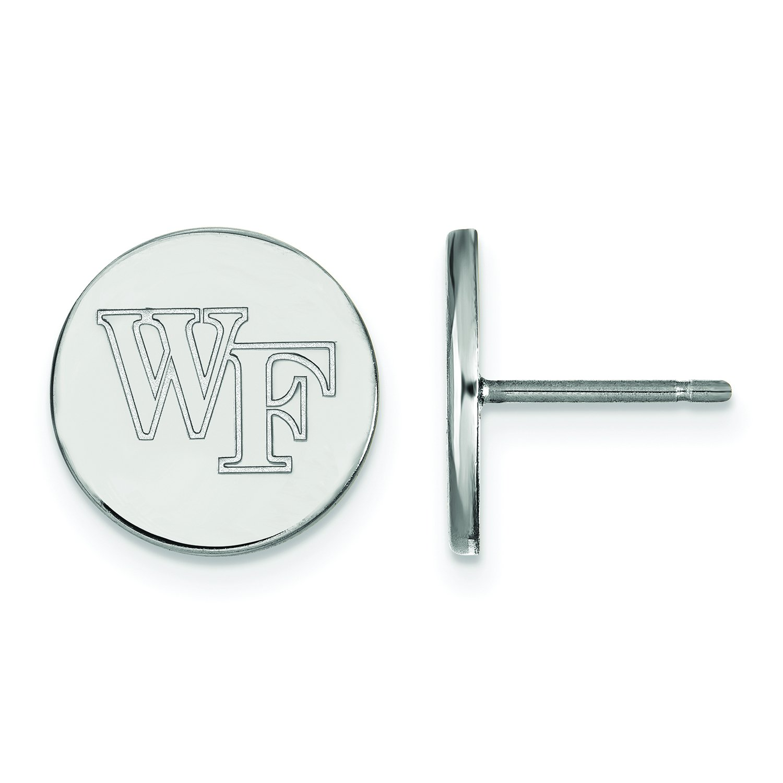 Wake Forest Small ( 1 / 2インチ)ディスクイヤリング( Sterling Sliver ) B01JAOLG6S
