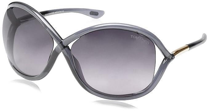 Tom Ford gafas de sol FT0009_0B5 (64 mm) Gris, 64: Amazon.es ...