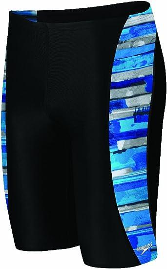 Color Stroke Jammer Swimsuit Speedo Mens Endurance