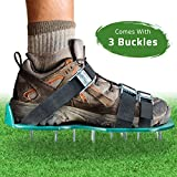 Kyпить Lawn Aerator Spike Shoes – For Effectively Aerating Lawn Soil – Comes with 3 Adjustable Straps with Metallic Buckles – Universal Size that Fits all – For a Greener and Healthier Garden or Yard. на Amazon.com