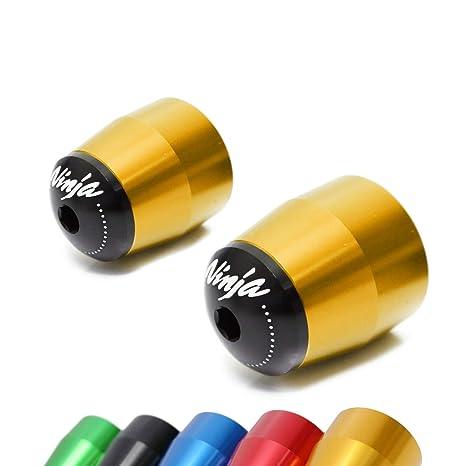 Lim Gold Racing CNC Bar End Sliders For Kawasaki NINJA 300 R 13-17 15 16 Z1000 ER-6F Ninja 650R