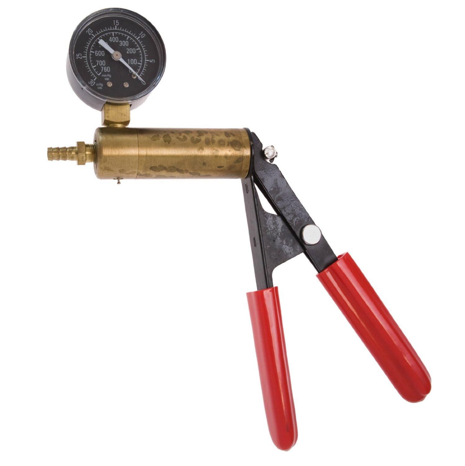 The Phenom Professional Package Kit Set Includes 2.50 ( 2 1/2 )'' x 12 '' Penis Vacuum Cylinder USA Made + Solid Brass Cylinder and Steel Handle Frame Hand Operated Design Vacuum Pump Pressure Gauge with Dual Calibration Vacuum Gauge + Hose Attachment with  by The Phenom