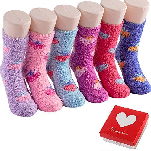 Crew Girls Womens Socks Fun – Thanksgiving Christmas Gifts for Her Women Socks