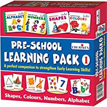 Creative Educational Aids 1007 Pre - School Learning Pack 1 (Shapes...