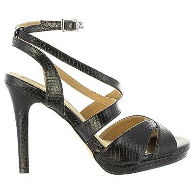 Maria Mare Sandale Noir 67166 40 Noir GEKjqtRS