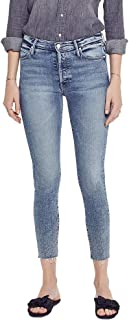 product image for MOTHER Women's The Stunner Ankle Fray Jeans