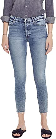 MOTHER Womens The Stunner Ankle Jeans