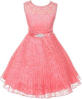 Amazon AkiDress Floral Pattern Lace Flower Girl Dress For Gorgeous Flower Girl Dress Patterns