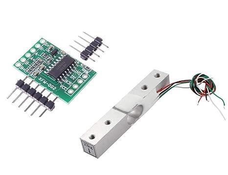 Aihasd Celda de Carga Digital Sensor de Peso 10kg Portátil Escala electrónica de la Cocina +