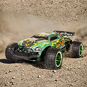 SGILE Fast Speed Off-Road Race Car Toy for Kids Birthday Present, RC Remote Control Drifting Electric Radio Rechargeable Remote Control Furious Car for All Terrain for Kids Adults