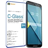 NEWLOGIC 【Google Nexus 6】 C-Glass 0.3mm 保護ガラス (硬度 9H) 液晶保護 フィルム 強化ガラス (Nexus6)