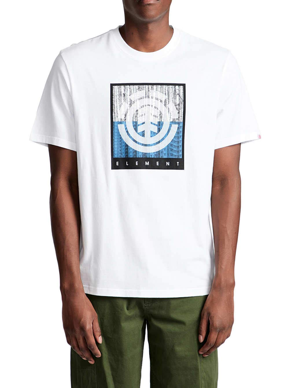 Element T-Shirt Uomo The Majors Manica Corta F