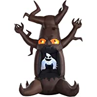 Homcom Scary Ghost Tree Outdoor Halloween Yard Decoration