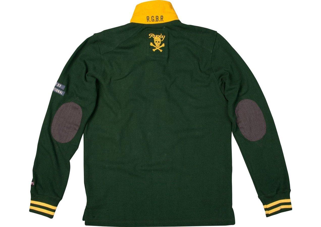 Rhino Sudáfrica – para Hombre Heritage Rugby Camiseta de Rugby de ...