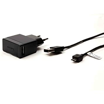 Cable de datos original EP880 Sony Micro USB AC Adapter + (1500 mAh)