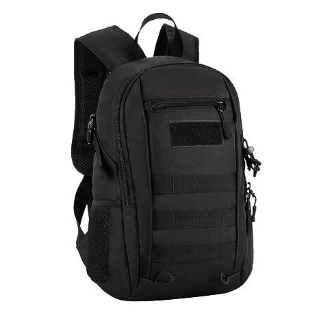 2acdc0dde845 Jili Online Small 12 Litre Daypack MOLLE Backpack Rucksack Men Ladies Boys  Girls Hiking Walking Travel
