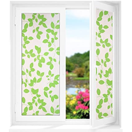 3D No Glue Removable Home Decorative Privacy Window Films Frosted Glass Film