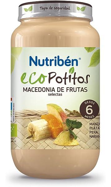 Nutribén Ecopotitos 169642.7 - Macedonia de frutas selectas, 250 ...