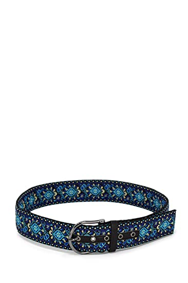 Desigual Ceinture femme Belt Bluebelt 19SARP42 95 bleu  Amazon.fr  Vêtements  et accessoires 441c2f30827