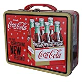 old coca cola cans - Coca-Cola Galvanized Tin Lunchbox Refreshing New Feeling