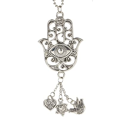 Ganz Car Charm Hamsa ER47930: Automotive