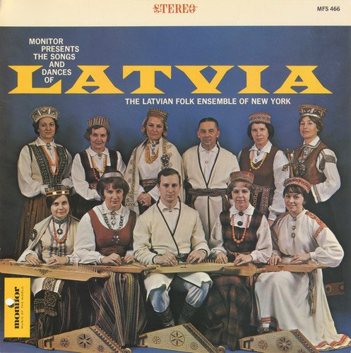 - Latvian Folk Ensemble of New York, Vol. 1