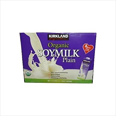KIRKLAND Kirkland Signature leche de soja org?nica 946ml 12 Conjunto de la leche de