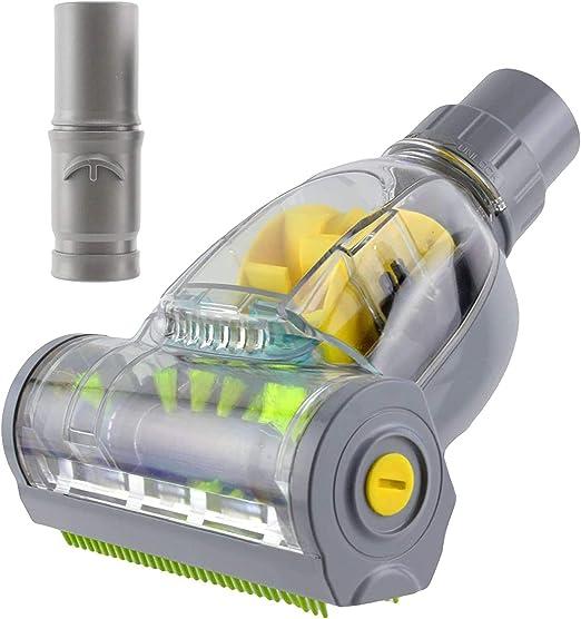SPARES2GO Mini Cepillo Turbo turbina Dyson DC24 para DC32 DC33 Aspiradora (Alta Potencia - accionado por aire): Amazon.es: Hogar