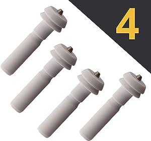 (4 Pack) Gas Range Oven Spark Electrode Igniter - for GE WB13K10014 AP3779012 1085568