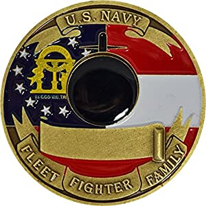 Naval Submarine Base Kings Bay Challenge Coin
