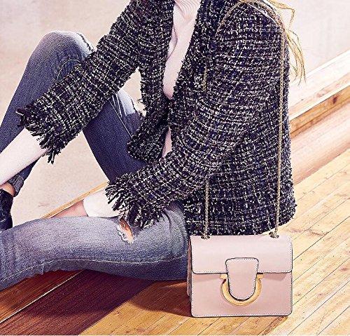 Mini Bag Woman Single Square Bag Grey Shoulder Bag Bag qftFRwg
