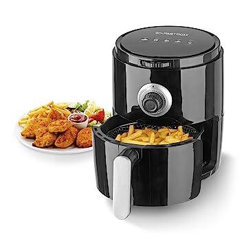 Freidora de aire caliente Gourmet Maxx 8 in1 1500 W color blanco 3L 1200 W: Amazon.es: Hogar