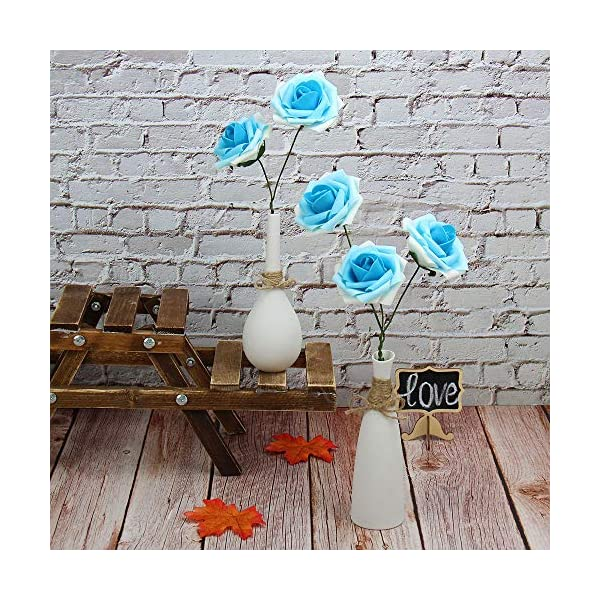 Marry-Acting-Artificial-Flower-Rose-30pcs-Real-Touch-Artificial-Roses-for-DIY-Bouquets-Wedding-Party-Baby-Shower-Home-Decor-Gradual-Flower-Blue