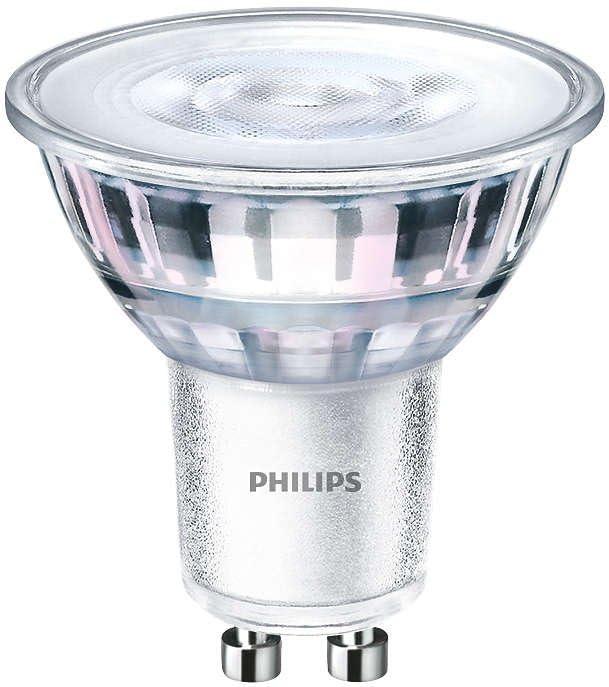 Philips LED Reflektorlampe Glas Dimtone 4,5 Watt GU10 2700-2200 Kelvin