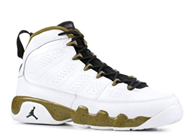 buy popular 6e423 97ef3 Amazon.com | Jordan Big Kids Air Jordan 9 Retro BG (white ...
