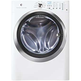 electrolux front load washer. electrolux eifls55iiw 4.2 cu. ft. front load steam washer - iq-touch control