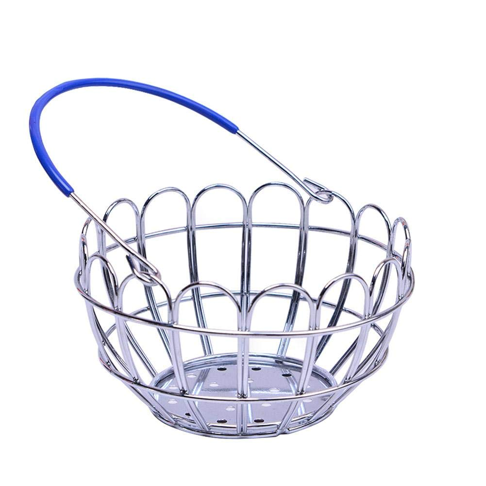 New-look Mini European new electroplated iron wire handmade mini round shopping basket