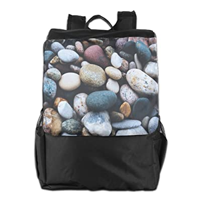 free shipping Believe Ddspp Sunset Pebble Outdoor Backpack Rucksack Gym Bags