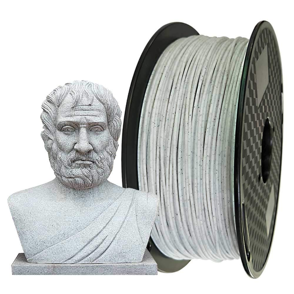 Marble PLA Filament 1.75mm 3D Printer Filament 1KG 2.2LBS 3D Printing Material Sparkly Stone Color CC3D Other Silk Gold Silver Copper Black