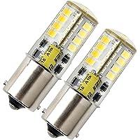 Ba15s LED-lampa P21w 12 V, 1156 1141 LED-glödlampa, 5 W cool vit 6 000 K SMD enkel kontakt bajonett SBC, för bil RV…
