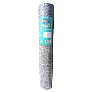 """MTB Galvanized Hexagonal Poultry Netting, Chicken Wire 36"""" x150'- 1"""" 20GA 12""""/18""""/24""""/36""""/48""""/60""""/72"""" Width by 25'/50'/150'Length"""