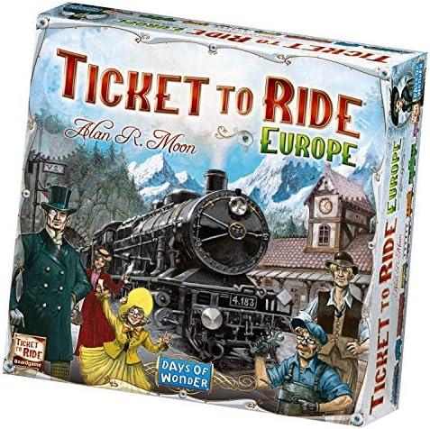 Ticket to Ride - Europe: Amazon.es: Juguetes y juegos