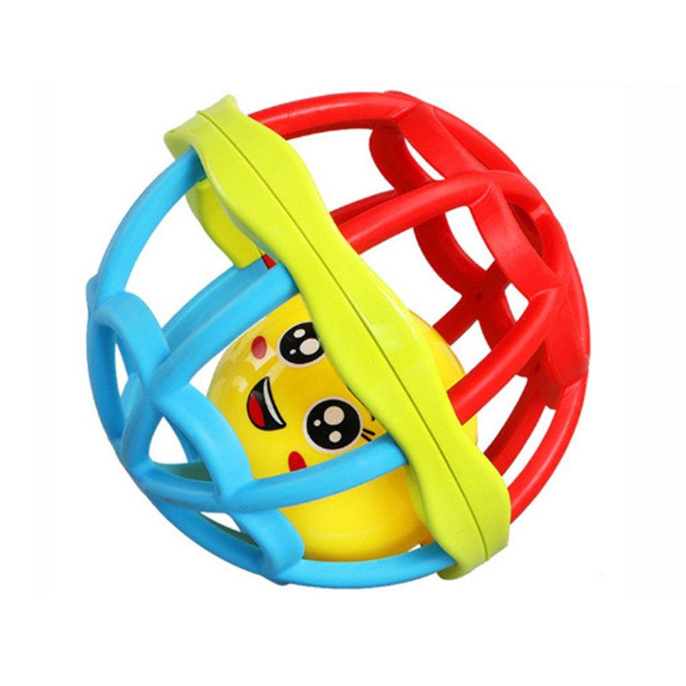 di piccola dimensione Prodotto per bambini Deanyi Bambino sconcerta palla morbida gomma Giocattoli Neonati Hnad Shaker Giocattoli infantili Newborn