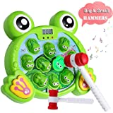Yuham Whack a Frog Pounding Game, Developmental Toddlers Toys for 3 4 5 6 7,2 Year Old Boys & Girls Gift, Helps Fine Motor Sk
