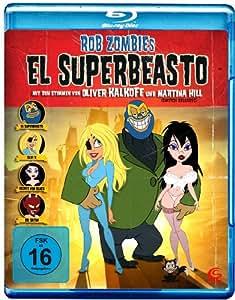 Rob Zombies El Superbeasto [Alemania] [Blu-ray]