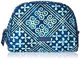 Vera Bradley Large Zip Cosmetic, Cuban Tiles