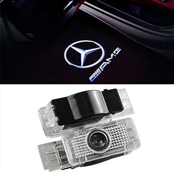 2 St/ück Autot/ür Logo T/ürbeleuchtung Einstiegsleuchte Projektion Licht