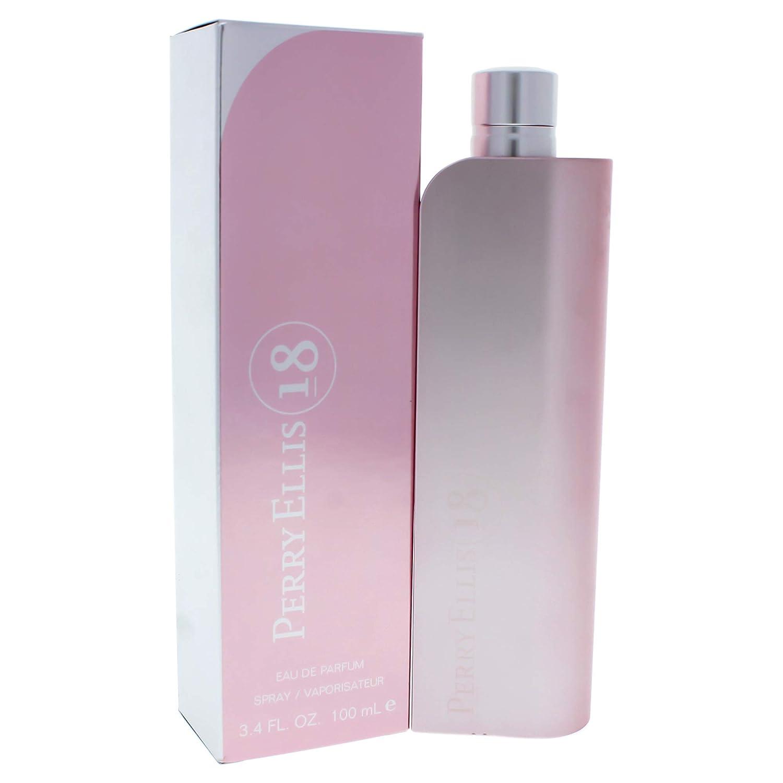 Perry Ellis 18 By Perry Ellis For Women, Eau De Parfum Spray, 3.4-Ounce Bottle