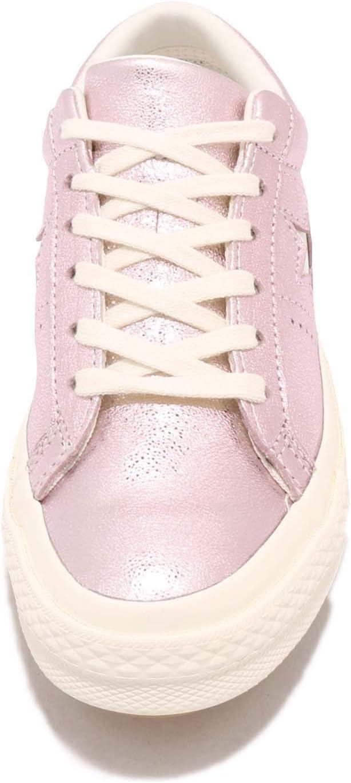 Converse Lifestyle One Star Ox Sneakers voor volwassenen, uniseks Veelkleurig Roest Roze Egret Egret 668