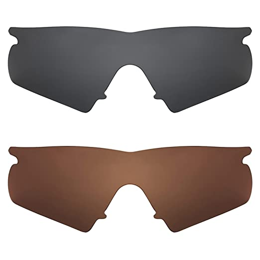 8fd7aaa1fb Image Unavailable. Image not available for. Color  Revant Replacement Lenses  for Oakley M Frame Hybrid 2 Pair Combo ...